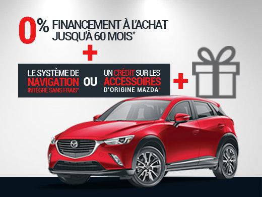 Économies + Avantage Unique! chez Prestige Mazda à Shawinigan