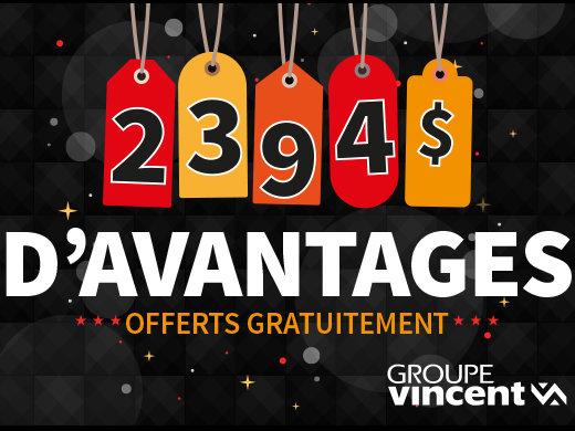 2394$ d'avantages offerts gratuitement! chez Hyundai Shawinigan à Shawinigan