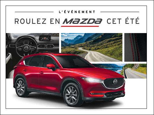 Roulez en Mazda cet été! chez Prestige Mazda à Shawinigan