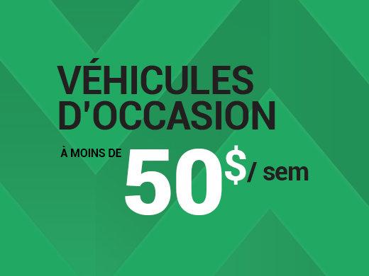 Enfin, un véhicule d'occasion à 50$ par semaine! chez Groupe Vincent à Shawinigan et Trois-Rivières