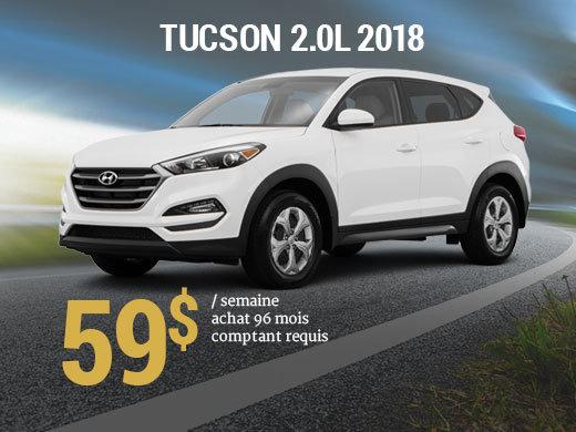 Offrez vous le Hyundai Tucson 2018 pour 59$/sem. chez Hyundai Trois-Rivières à Trois-Rivières