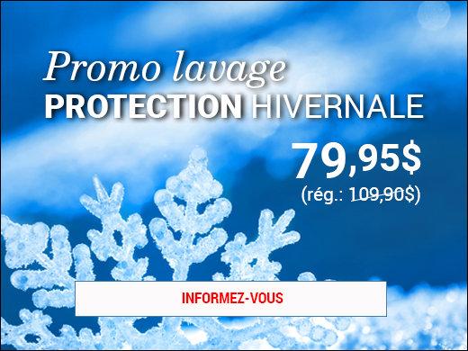 30$ de rabais pour un lavage PROTECTION hivernale! chez Groupe Vincent à Shawinigan et Trois-Rivières