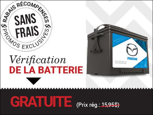 Vérification de la batterie SANS FRAIS! chez Groupe Vincent à Shawinigan et Trois-Rivières