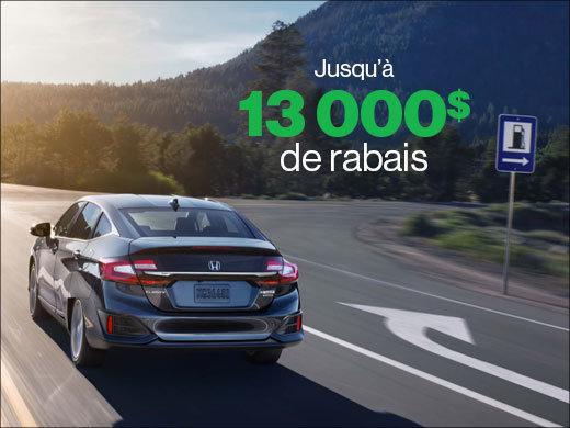 Jusqu'à 13 000$ de rabais sur la Clarity Hybride PLUG-IN 2019! chez Avantage Honda à Shawinigan