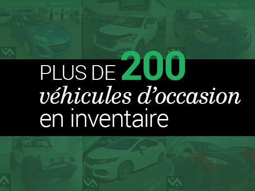 Plus de 200 véhicules d'occasion en inventaire! chez Hyundai Shawinigan à Shawinigan