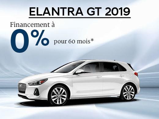Financement 0% sur la Hyundai Elantra GT 2019 chez Hyundai Shawinigan à Shawinigan