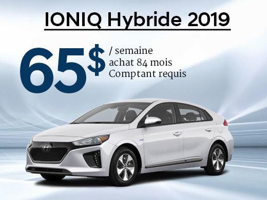 Roulez vert avec le Hyundai IONIQ Hybride 2019 chez Hyundai Trois-Rivières à Trois-Rivières