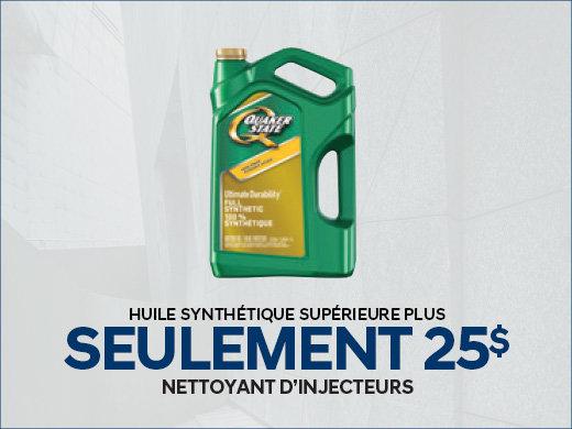 Huile Synthétique à SEULEMENT 25$ chez Hyundai Trois-Rivières à Trois-Rivières