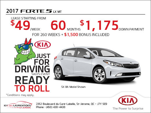 Get the 2017 Kia Forte5 Today