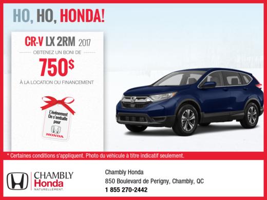Le Honda CR-V 2017!
