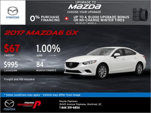 Save Big on the 2017 Mazda6!