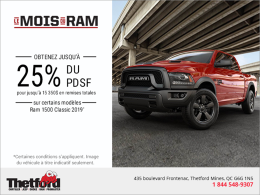 Le mois du RAM!