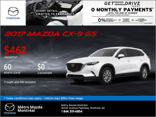 Get Our New 2017 Mazda CX-9
