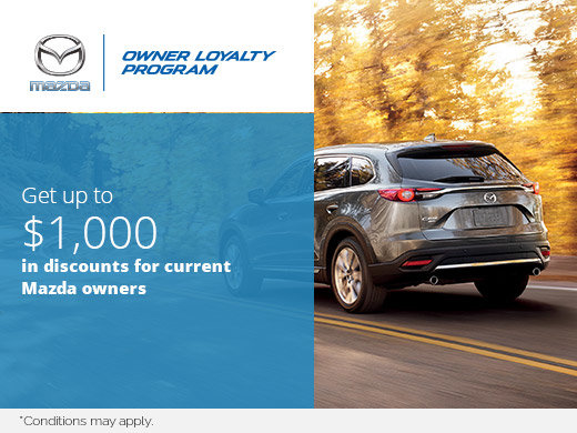 Mazda's Owner Loyalty Program