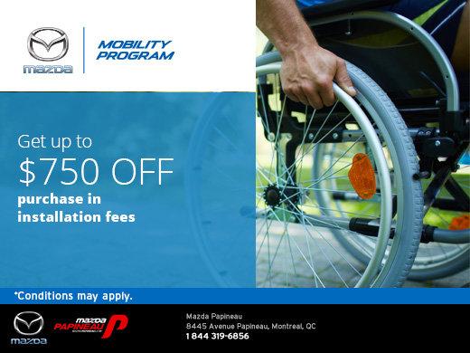 Mazda's Mobility Program
