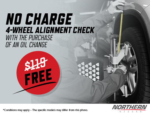 Free 4-Wheel Alignment Check