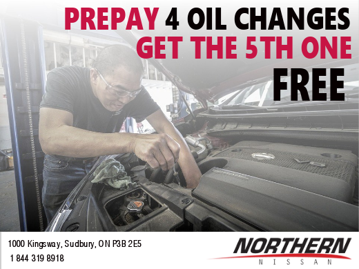 Oil Change Promotion
