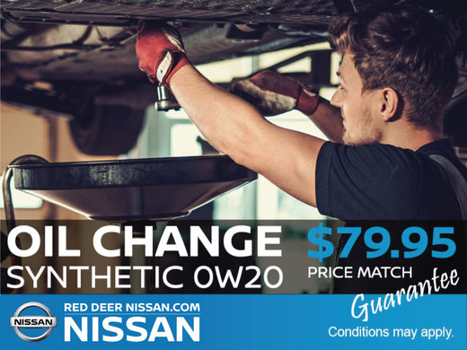 Synthetic Oil Change For Only $79.95!