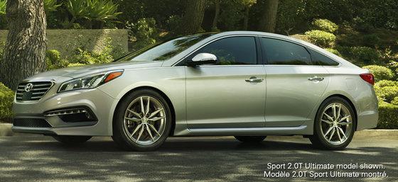 Hyundai Sonata 2015: plus de personnalité