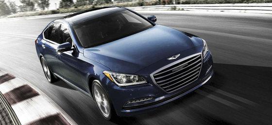 La Hyundai Genesis reçoit le prix de la valeur résiduelle ALG 2015