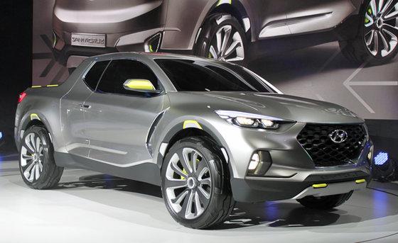 Hyundai Santa Cruz: un concept de camionnette chez Hyundai