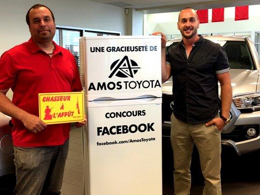 Concours du Québec - Amos Toyota - Facebook