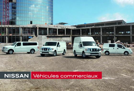 Camions Nissan NV maintenant chez Longueuil Nissan