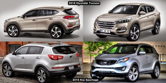 2016 Kia Sportage vs 2016 Hyundai Tucson in St-Jean