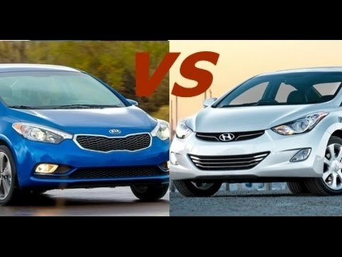 Kia Forte 2016 vs. Hyundai Elantra 2016