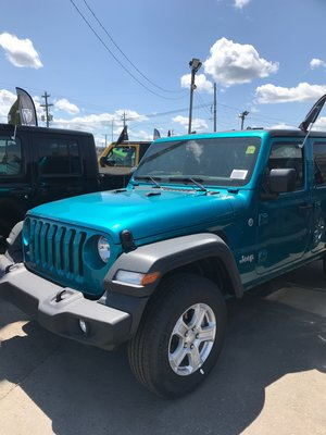 New 2019 Jeep Wrangler Unlimited Sport S for sale in