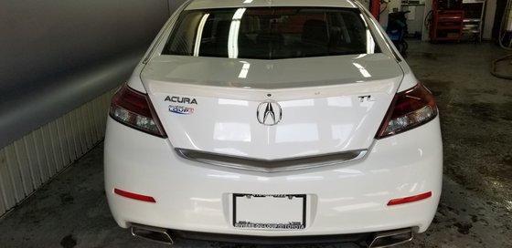 Acura TL W/Tech Pkg 2012 (3/21)