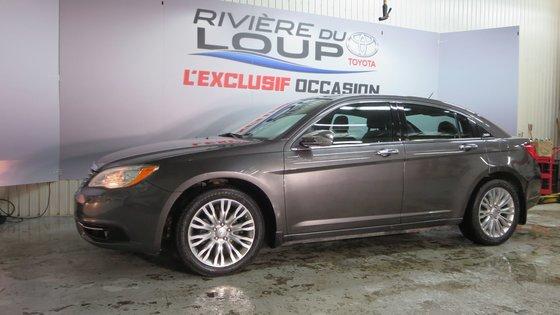 Chrysler 200 Limited 2014 CUIR,TOIT,PNEUS HIVER (4/21)