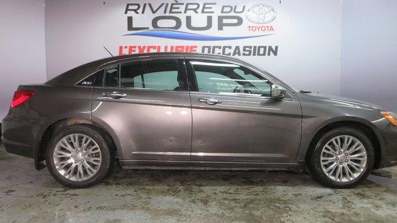 Chrysler 200 Limited 2014 CUIR,TOIT,PNEUS HIVER (1/21)