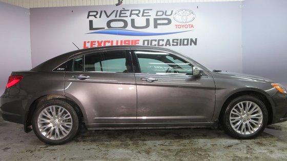 Chrysler 200 Limited 2014 CUIR,TOIT,PNEUS HIVER (3/21)