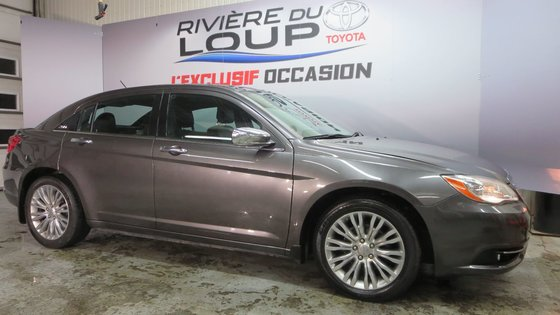 Chrysler 200 Limited 2014 CUIR,TOIT,PNEUS HIVER (2/21)