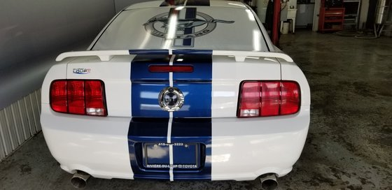 Ford Mustang GT ,ROUES SHELBY SUPER MUSTANG PRIX FIN DE SAISON 2006 (4/18)