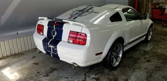 Ford Mustang GT ,ROUES SHELBY SUPER MUSTANG PRIX FIN DE SAISON 2006 (2/18)