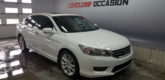 Honda Accord Sedan Touring 2014 V6,NAVY,CUIRE, TOIT , (5/21)