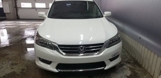 Honda Accord Sedan Touring 2014 V6,NAVY,CUIRE, TOIT , (2/21)