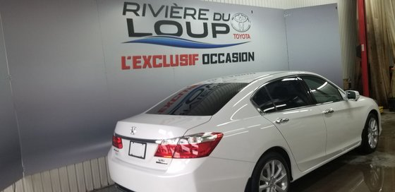 Honda Accord Sedan Touring 2014 V6,NAVY,CUIRE, TOIT , (4/21)