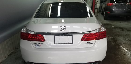 Honda Accord Sedan Touring 2014 V6,NAVY,CUIRE, TOIT , (3/21)
