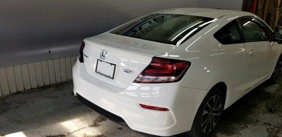 Honda Civic Coupe EX 2014 (4/21)