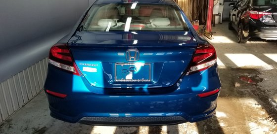 Honda Civic Coupe EX, ROUES ET PNEUS HIVER INCLUS 2014 (2/20)