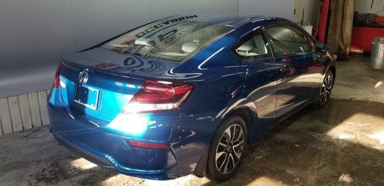 Honda Civic Coupe EX, ROUES ET PNEUS HIVER INCLUS 2014 (3/20)