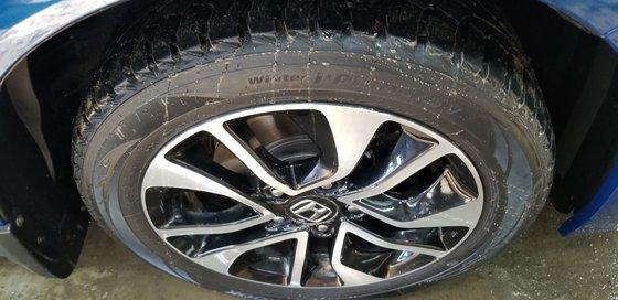 Honda Civic Coupe EX, ROUES ET PNEUS HIVER INCLUS 2014 (19/20)