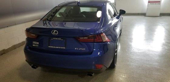 2015 Lexus IS 250 SÉRIE F (3/20)