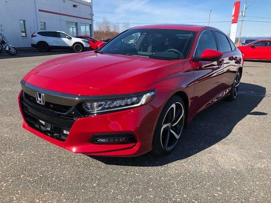 2018 Honda Accord Sedan Sport (1/14)