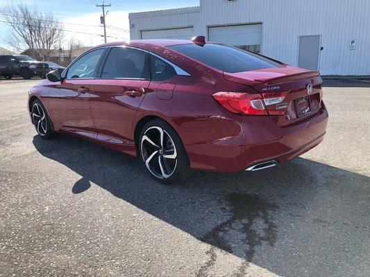 2018 Honda Accord Sedan Sport (3/14)