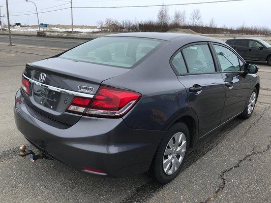 Honda Civic Sedan DX 2015 BAS KM (3/13)