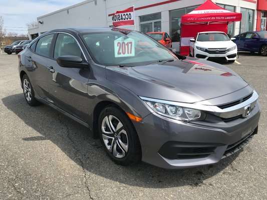 Honda Civic Sedan DX 2017 BAS KM (16/25)